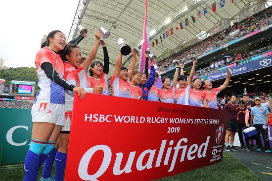 女子コアチーム昇格大会でセブンズ中国代表優勝。来年はワールドシリーズへ。