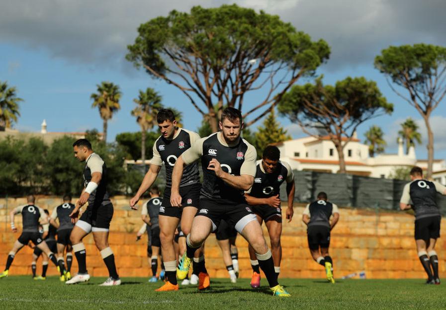 南半球ビッグ3や日本との対戦へ向けポルトガルで合宿中のイングランド代表(C)Getty Images