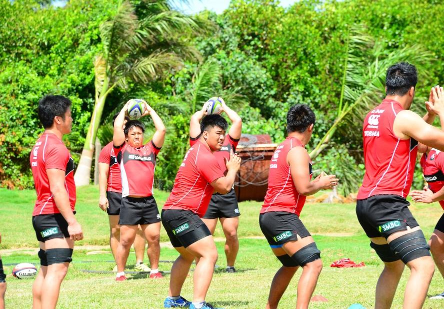 ジュニア・ジャパン、フィジーでたくましく成長中(C)Justine Mannan/Fiji Sun