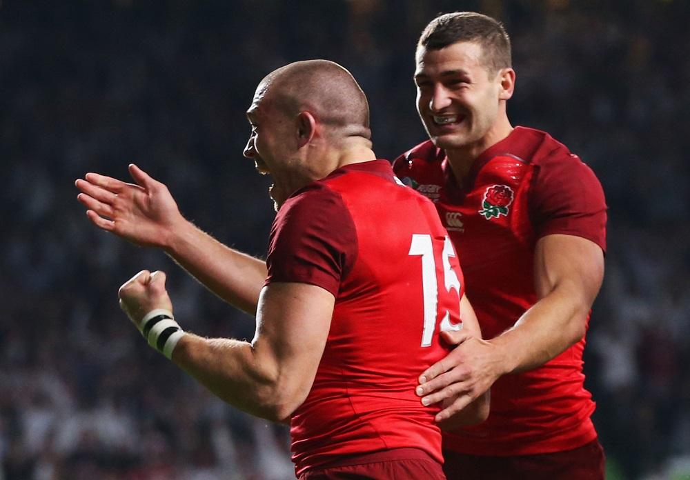 イングランドが自国開催W杯で好発進。FBマイク・ブラウンがMOMの活躍(C)Getty Images