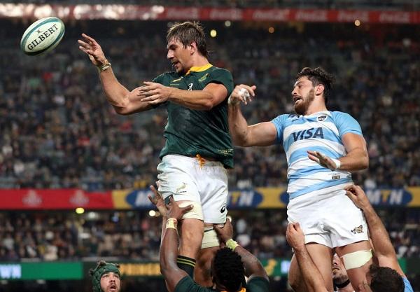 南アもラグビーチャンピオンシップ白星発進 地元でアルゼンチンに逆転勝ち