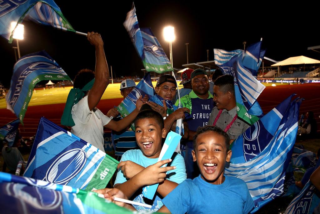 サモアでスーパーラグビー初開催。ブルーズがレッズに34−29で勝利(C)Getty Images