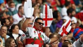 ワールドラグビーセブンズシリーズ・ロンドン大会を楽しむファン(C)Getty Image…
