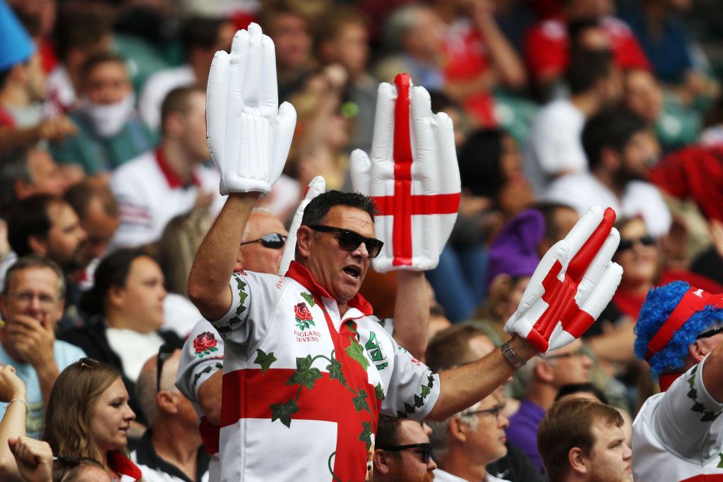 ワールドラグビーセブンズシリーズ・ロンドン大会を楽しむファン(C)Getty Images