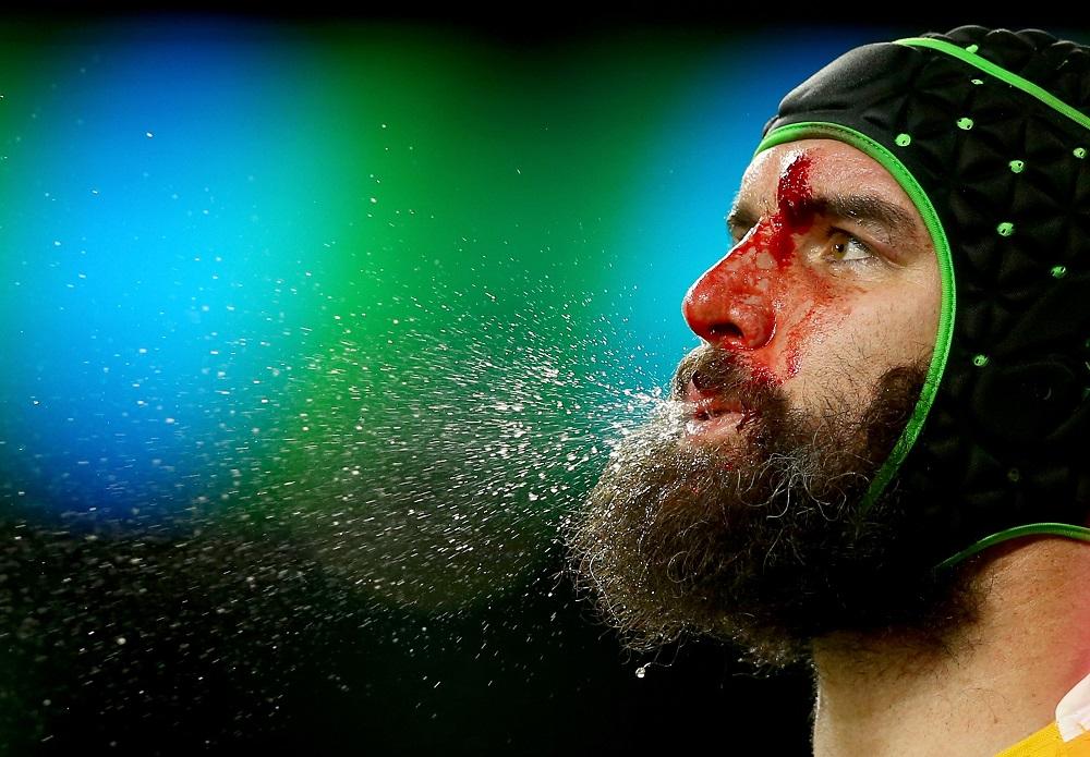 豪州が誇る最高バックローのひとり、ファーディー。元釜石SW選手(C)Getty Images