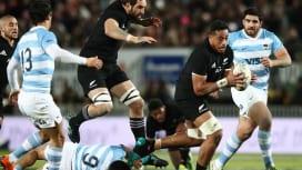 NZラグビー発祥の地でオールブラックス初試合 アルゼンチンに苦戦