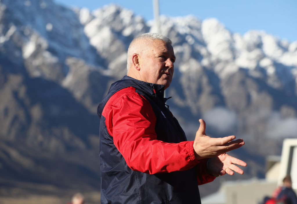 B&Iライオンズを指揮するガットランド。NZ代表次期HC候補に浮上!?(C)Getty Images