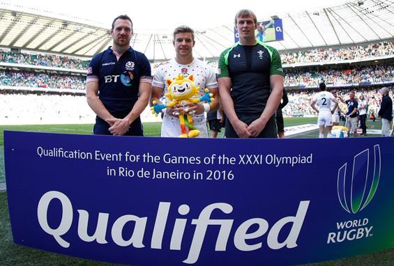 リオ五輪の英国代表。イングランド、スコットランド、ウェールズが1つに