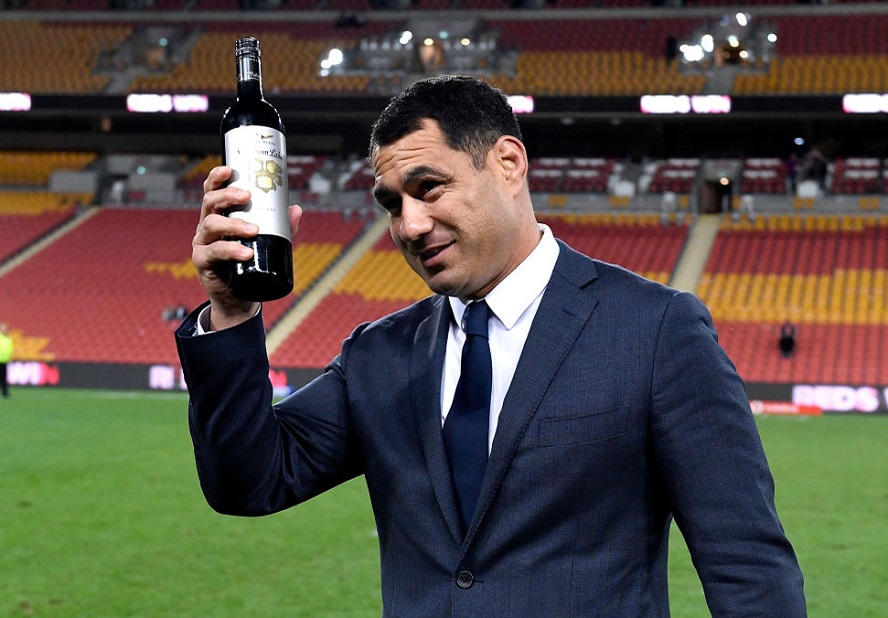 レッズを退団するジョージ・スミス。最終戦後ワインを贈られ、ファンに感謝(C)Getty Images
