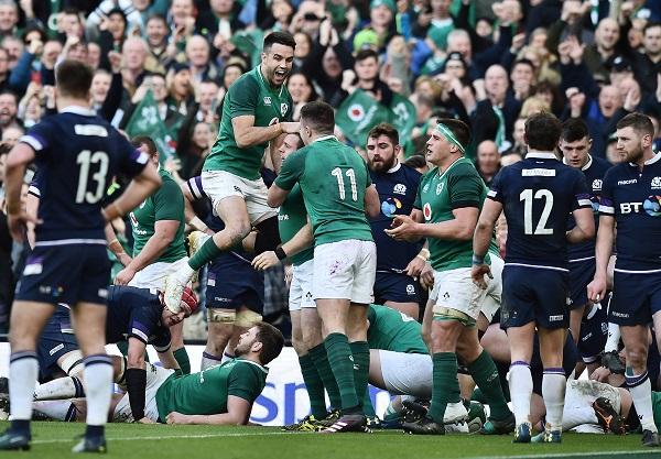 アイルランドが3年ぶりに欧州王座奪還! イングランド2敗目で3連覇ならず