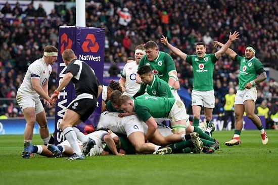 グランドスラム達成。アイルランド、トゥイッケナムでイングランドに勝つ。