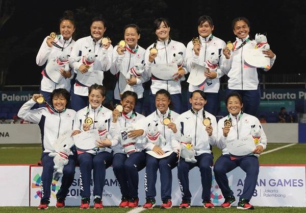 女子7人制ラグビー日本代表がアジア競技大会で初の金メダル! 男子は準優勝