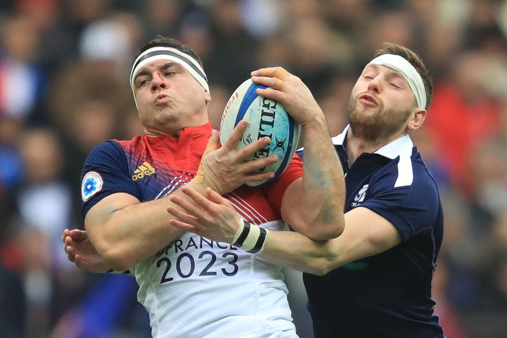 欧州6か国対抗。フランスがスコットランドを22−16で下し今年初勝利(C)Getty Images