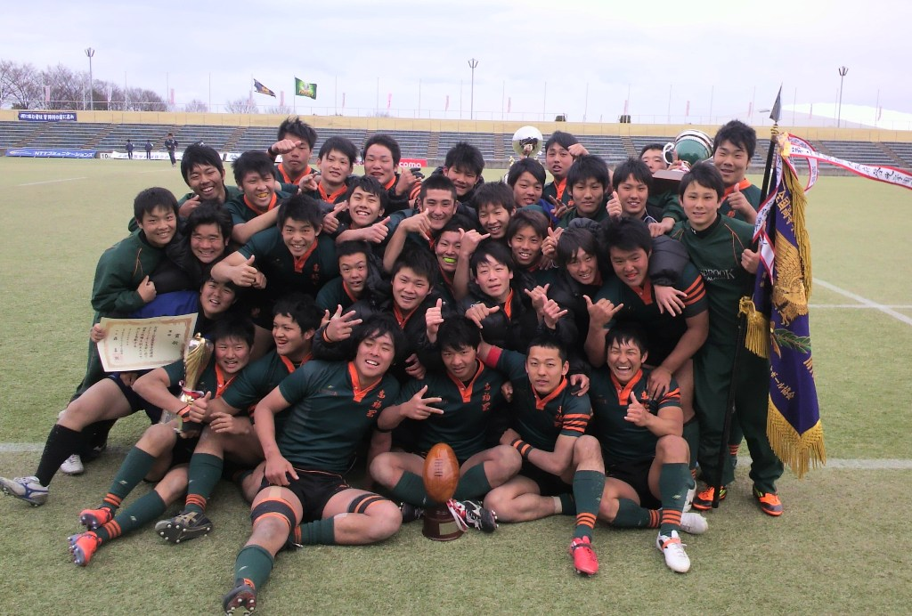 全国高校選抜で3大会連続の優勝を果たした東福岡。冬の花園と合わせ、6季連続日本一(撮影:BBM)