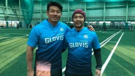 韓国チームを日野自動車・佐々木さん、君島さんの同級生ふたりがコーチング