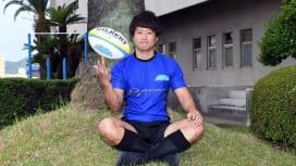 新シーズンの活躍が期待されるマツダブルーズーマーズのBK李修平(撮影:Hiroaki. …
