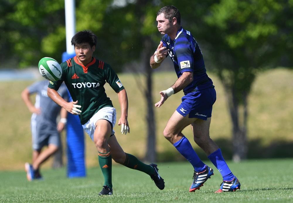 豊富な経験を今季はNECで活かす。元NZ代表のスティーブン・ドナルド(C)Hiroaki.UENO