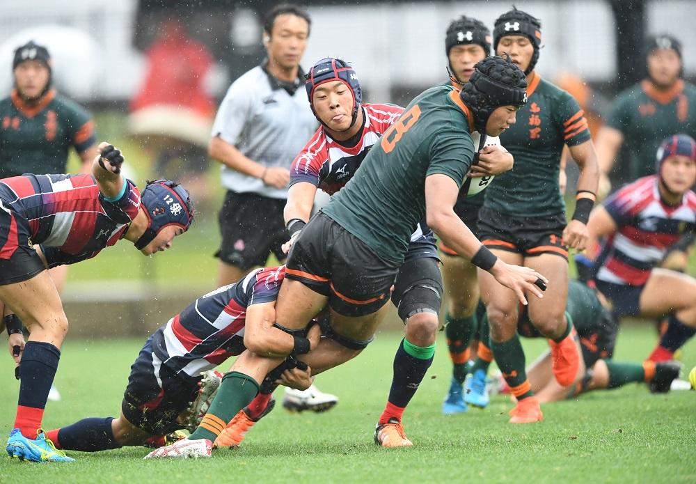 全九州高校大会は東福岡が優勝。決勝では佐賀工を28−7で下した(撮影:Hiroaki. UENO)