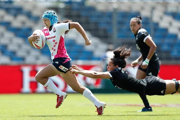 女子セブンズ日本代表、NZと競るも金星ならず。フランス大会初日は3連敗