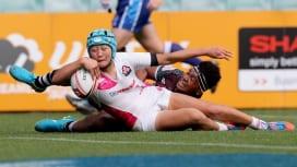 日本女子はシドニーセブンズ11位 フィジーに惜敗もパプアニューギニア圧倒