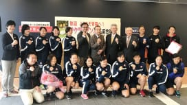 サクラセブンズ候補合宿、弘前で始まる。アジア制し「五輪へ続く新たな出発」。