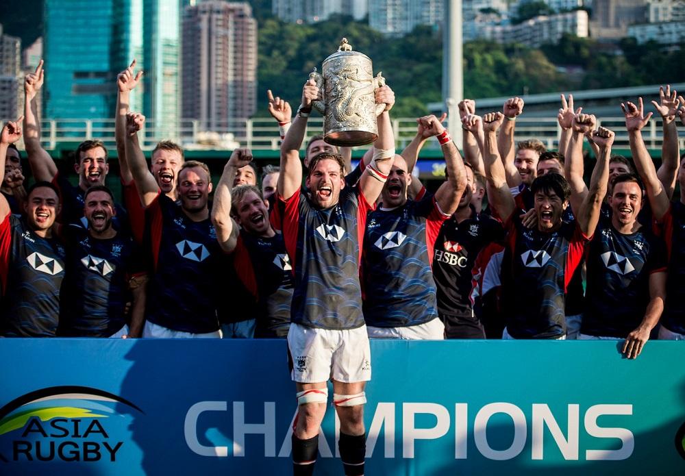 ワールドカップアジア予選を制した香港代表(Photo: Hong Kong Rugby Union)