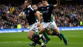 欧州6か国対抗戦開幕 スコットランドがV候補2番手のアイルランドを下す!