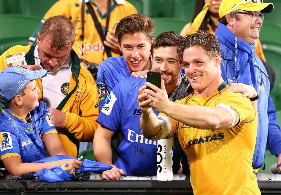 スーパーラグビーから外されたフォースのファン。協会は憎いが豪代表は応援(C)Getty Images