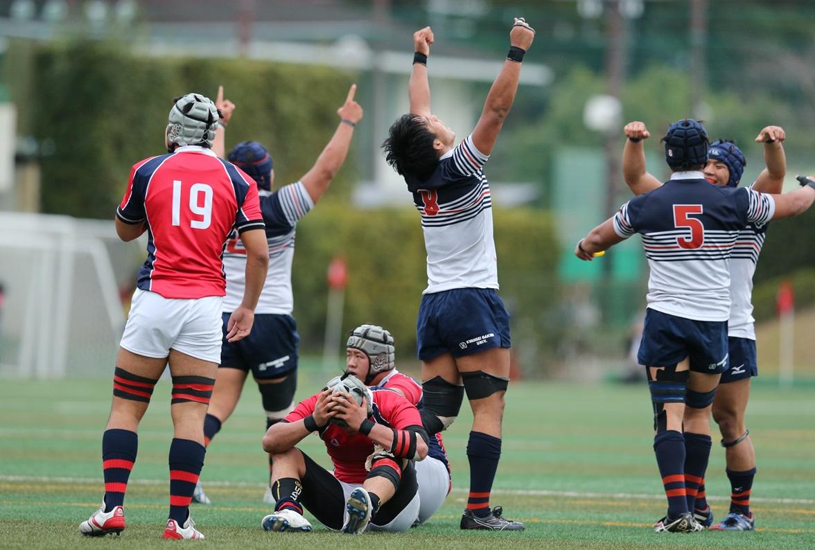 関西学院大が京産大を下し、関西大学Aリーグ全勝で5年ぶり10回目の優勝(撮影:毛受亮介)
