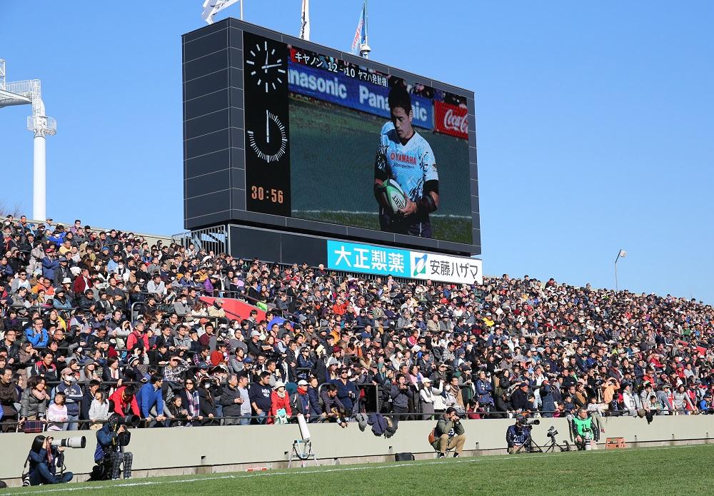 12月26日に秩父宮で行われたTL2試合は2万人を超す大観衆でほぼ満員となった(撮影:松本かおり)