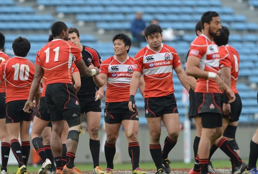 東京セブンズで世界の強豪相手に戦い切った7人制日本代表。W杯、五輪へ向け収穫得た(撮影:松本かおり)