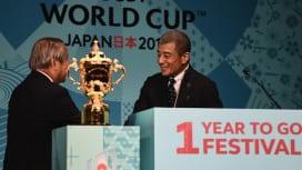 RWC2019日本大会のPRキャプテンに就任した俳優の舘ひろしさん(C)Getty Im…
