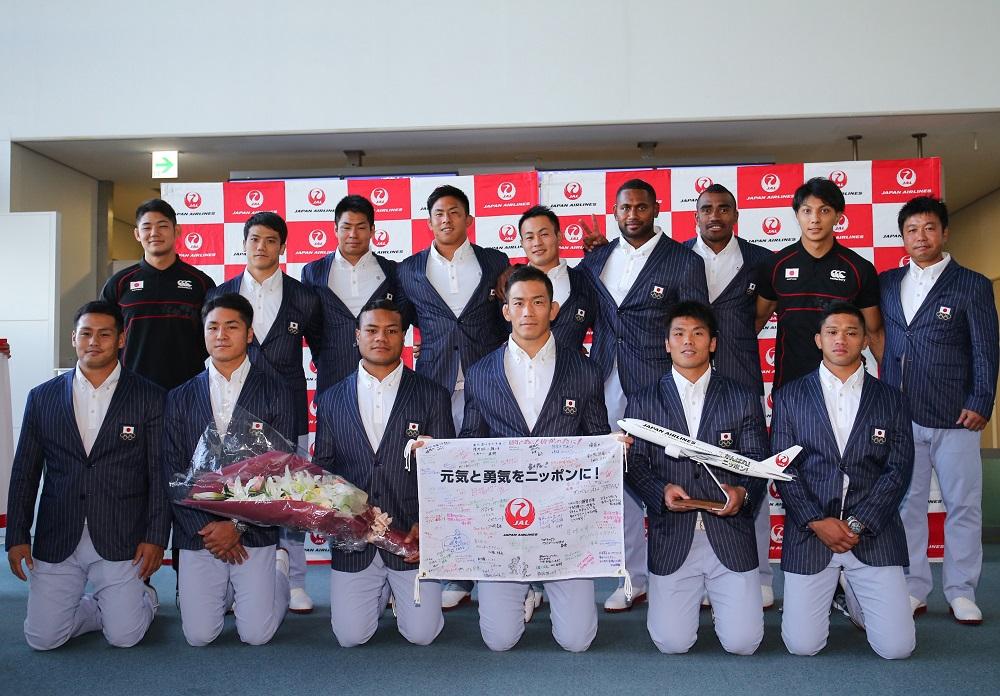 歴史的なオリンピックに挑む男子セブンズ日本代表。いざ、リオデジャネイロへ(撮影:松本かおり)