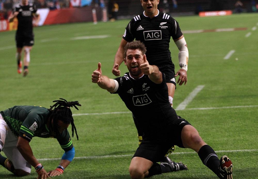 バンクーバーセブンズで優勝したNZ(C)World Rugby/Martin Seras Lima