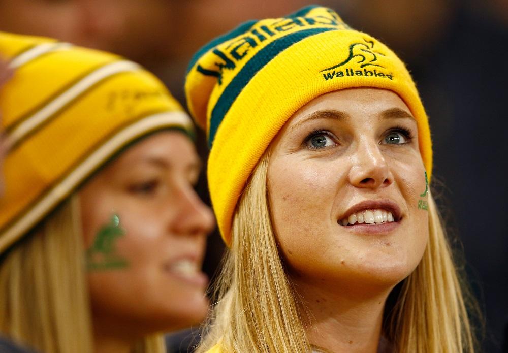 オーストラリア代表の美人サポーター。チームはW杯白星スタート(C)Getty Images