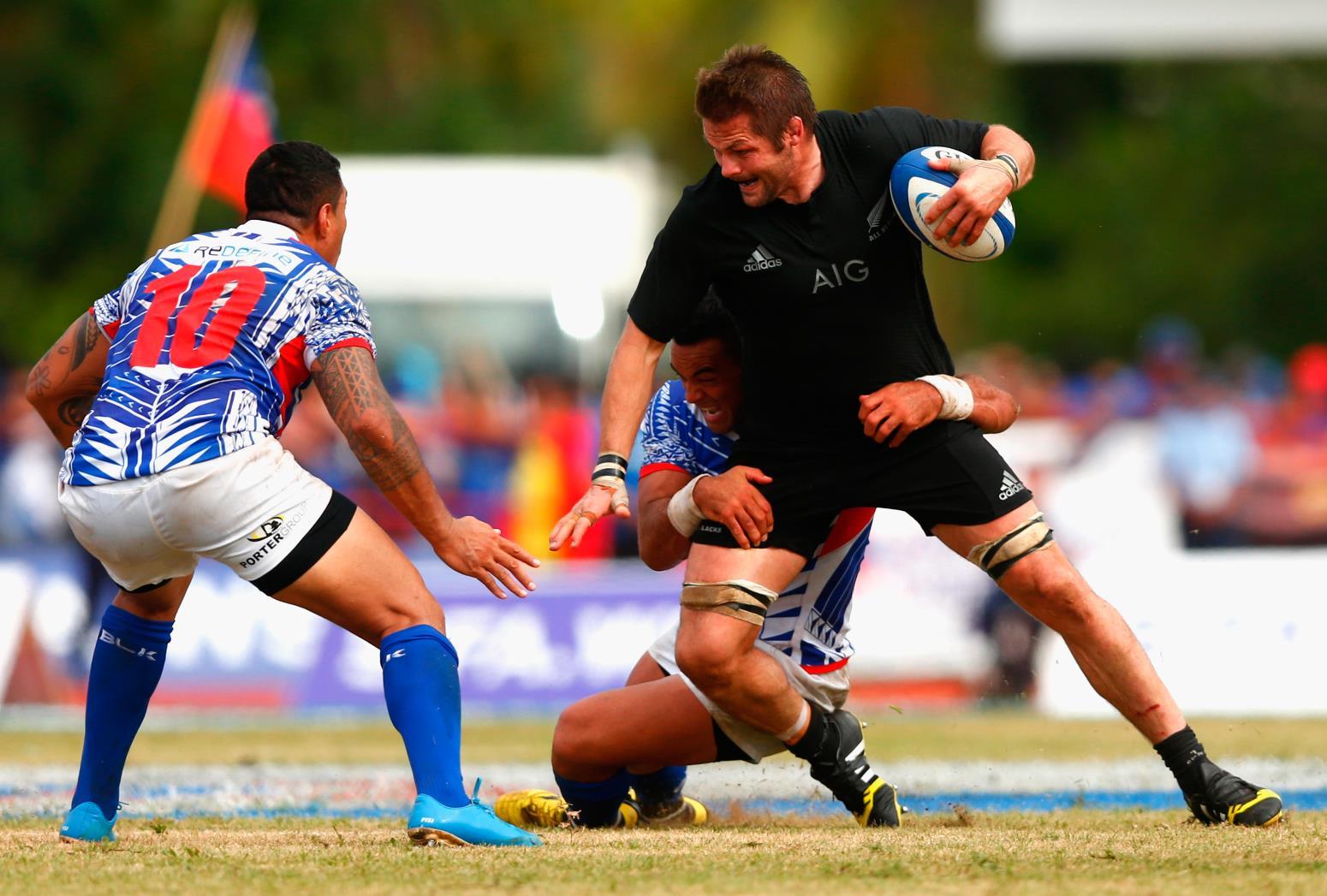 NZがサモアで初のテストマッチ。W杯で日本と同組のサモア、9点差惜敗(C)Getty Images