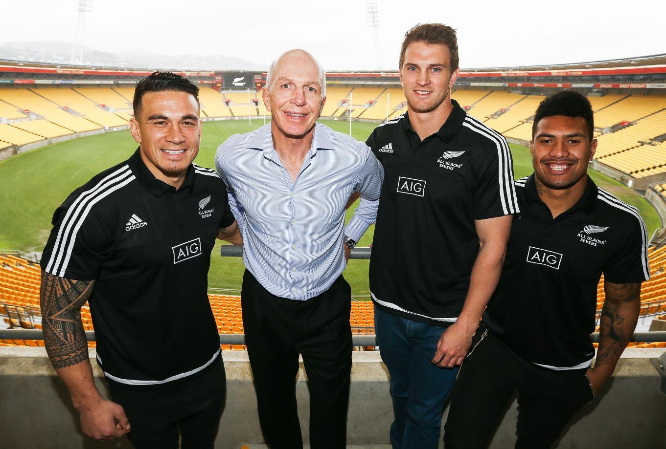 リオ五輪出場をめざすソニービル・ウィリアムズ(左)が7人制NZ代表入り(C)Getty Images