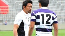 明大では池田渉新BKコーチが指導。主力組の自覚促す。