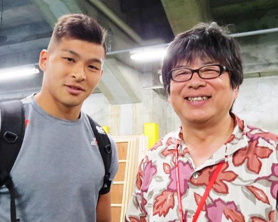 えみちゃんだ! 6月4日、ラジオ「藤島大の楕円球にみる夢」のゲストに。