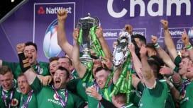 シックスネーションズで9年ぶりに全勝優勝を遂げたアイルランド(C)Getty Image…