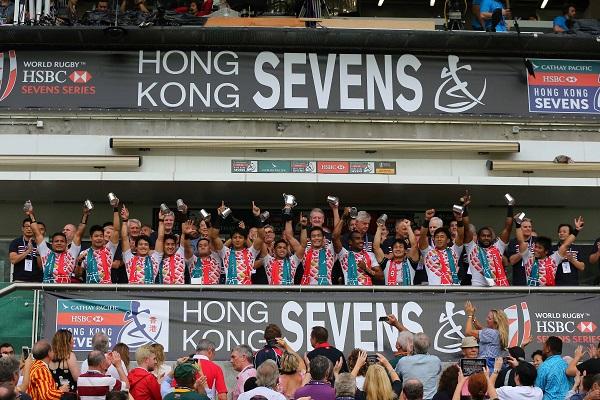 【香港セブンズ2016】日本、来季コアチーム昇格決定。決め手はタックル!