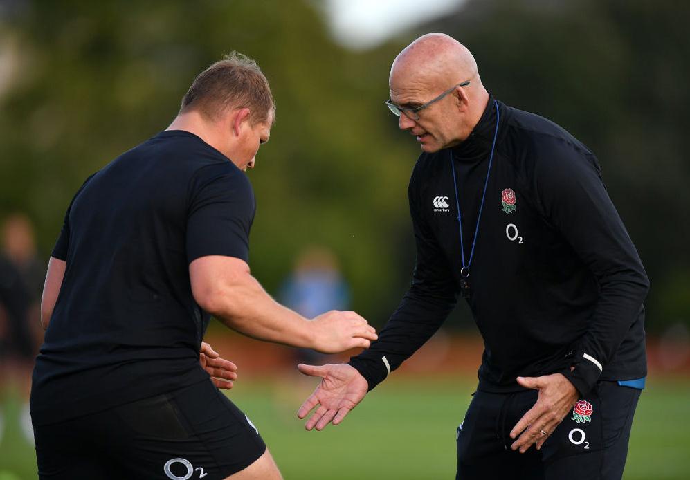 イングランド代表の新ディフェンスコーチとして始動したジョン・ミッチェル(C)Getty Images