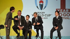 ワールドカップまであと1年。舘ひろしさん、嵐・櫻井翔さんらが展望!
