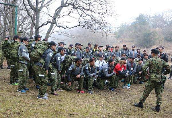 サンウルブズが陸上自衛隊別府駐屯地でメンタル強化、絆深まった!