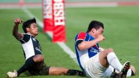 2011アジア5カ国対抗D1決勝。韓国がシンガポールを破り、トップ5昇格を決めた(撮影:…