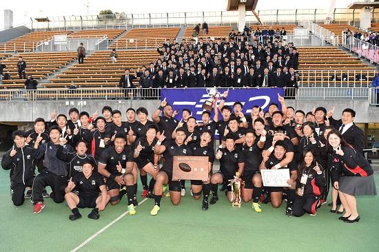 天理大が部史上3回目の3連覇。関西大学ラグビー