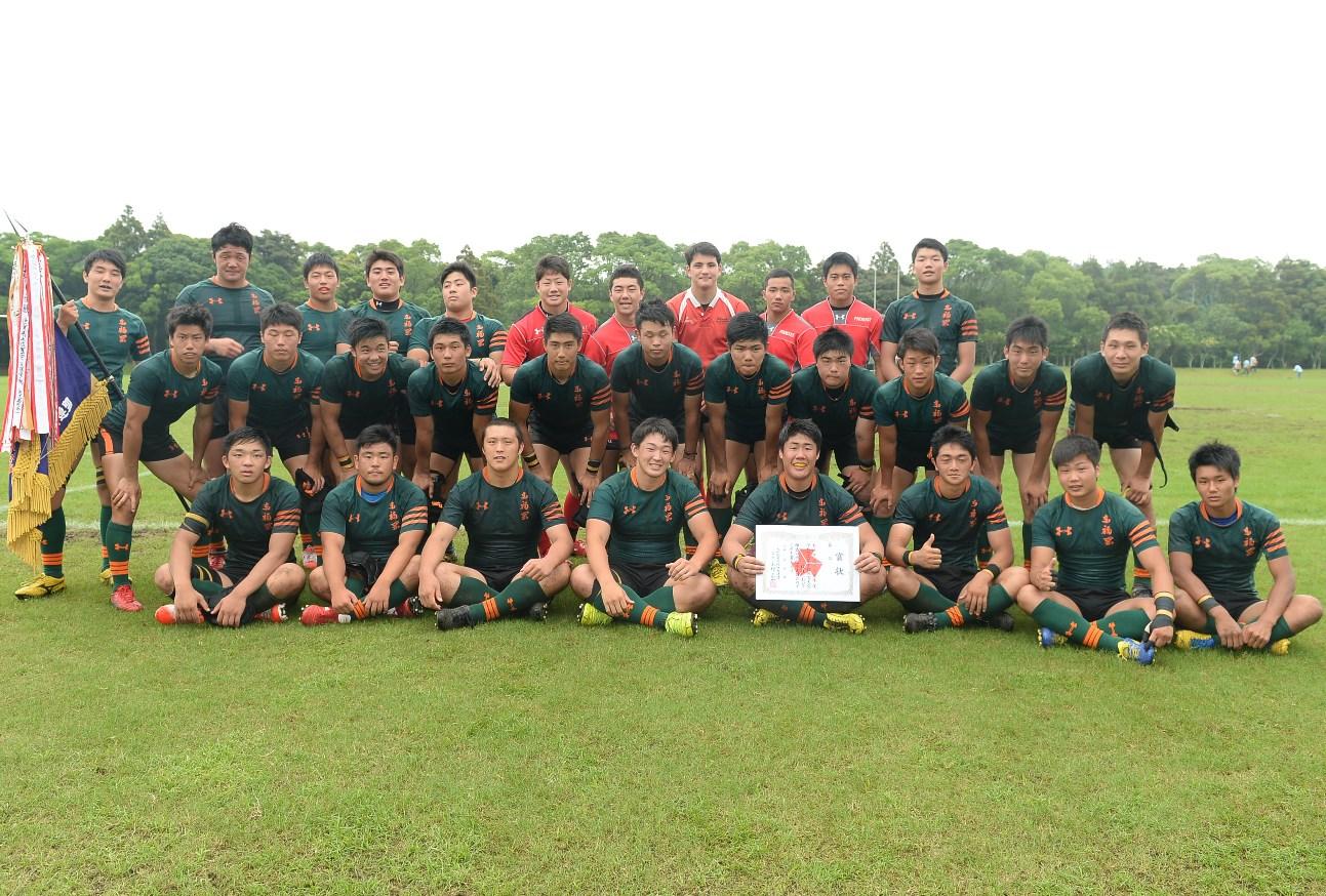 全九州高校大会で2年ぶり12回目の優勝を遂げた東福岡(撮影:Hiroaki. UENO)