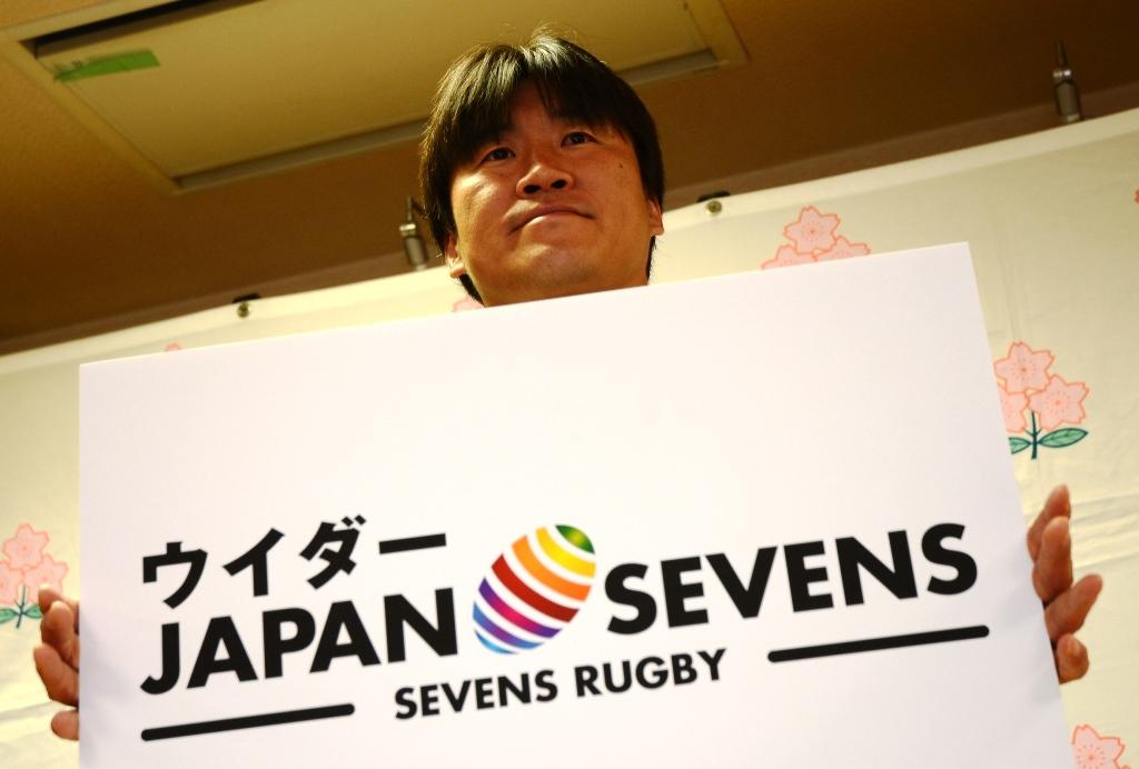 昨季終了後に引退した松田努が、ウイダージャパンセブンズで再び秩父宮を駆ける(撮影:松本かおり)