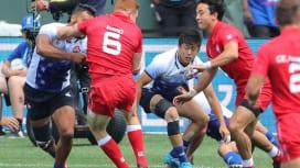 男子7人制日本代表・橋野が見る、セブンズW杯2日目の「メンタリティー」