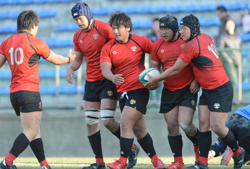 日本選手権2回戦で敗退した帝京大だが、学生王者らしくパナソニック相手に健闘した(撮影:松本かおり)